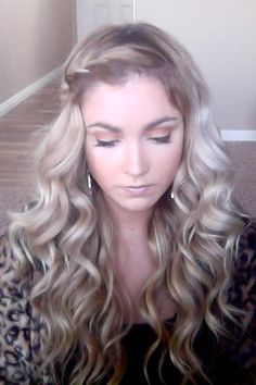 Love her tutorials. Beautiful waves ♥