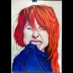 #hayleywilliams #caricatura #colorpencils #kefas #desenh4ndo #paramore #instaart