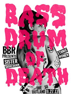 Bass Drum Of Death - Sister Shakedown by Rogan Howitt