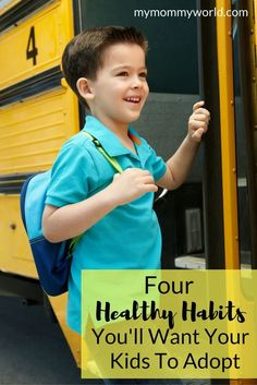 These healthy habits for kids will get your children on track for better health this school year. Teaching them these easy tips on nutrition, sleep habits and better hygiene will instill habits that should help them grow into healthy adults too.