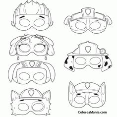 Here you find the best free Paw Patrol Mask Coloring Pages collection. You can use these free Paw Patrol Mask Coloring Pages for your websites, documents or presentations. Paw Patrol Masks, Paw Patrol Badge, Paw Patrol Party, Paw Patrol Birthday, Boy Birthday, Printable Masks, Printables, Free Printable, Insignia De Paw Patrol