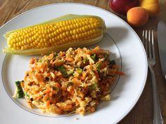 Experiment aus meiner Küche: Hirse-Salat mit Möhren & Ingwer #Rezept