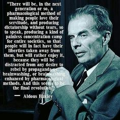 #Repost @switzerlandawakening ・・・ Aldous Huxley ahead of his time like many others knew what the generation would become �� #illuminati #mediamanipulation #brainwashedsociety #wakeup #antisociety #againstthesystem #killuminati #exitthematrix #newworldorder #nwo #knowledge #thinkforyourself #medialies #ignorance #changetheworld #infofighters #generation #pharmacological #dictatorship #propaganda #aldoushuxley #aheadoftime #wise #wisewords #society Checkout my partnerpages ��@the_shady_truth��…