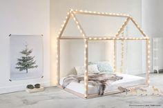 Pour bien débuter la semaine, voici quelques inspirations pour un lit maison dans une chambre d'enfant.