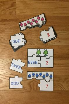 Looking for a fun teaching idea for even and odd numbers? Well look no further as Even and Odd Numbers Game Puzzles, for CCSS 2.OA.3, will serve as an exciting lesson for 2nd grade elementary school classrooms. This is a great resource for a guided math center rotation, review exercise, small group work and for an intervention or remediation. I hope you download and enjoy this engaging hands-on manipulative activity with your students!