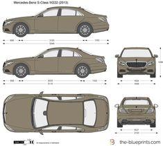 Image from httpcarblueprintsfoblueprintsvolkswagen mercedes benz s class w222 malvernweather Images