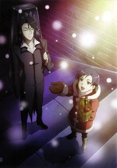 Blood + - Saya and Hagi