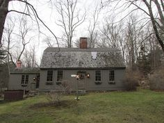 Nathaniel Drown House, Rehoboth, Massachusetts, 1750 , (click to enlarge)