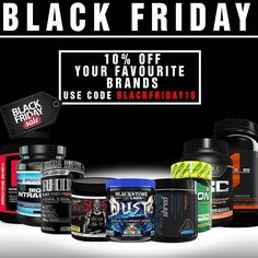 Black Friday starts right now Get 10% off your favourite brands such as: @blackstonelabsofficial  @primevallabs  @hybrid_performance_nutrition  @spartansuppz Apparel @corenutritionals  @5percentnutrition  Bonus packs for every order over $150 and even better packs for every order over $250  Strictly while stocks last-no codes needed just make a note of your shirt size at checkout and stock up   Click here or hit the link in our bio to shop  http://ift.tt/2frC8ks  #spartansuppz #blackfriday…