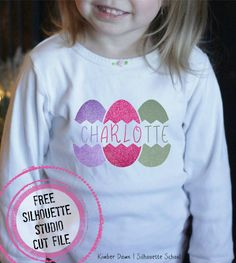 Free Cracked Easter Egg Design & New Hungry JPEG Bundle (Silhouette School Freebie Friday) ~ Silhouette School
