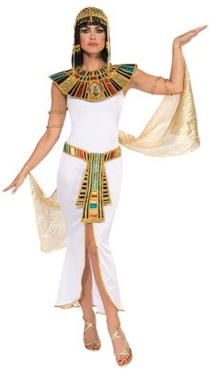 Deluxe Cleopatra Costume - Egyptian Costumes