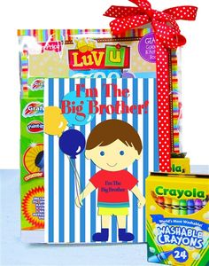 Big Brother Coloring Book Gift Set