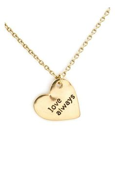 <3 #necklace #lovealways So perfect for me! I sign every letter with Love Always
