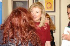 Electra Koutouki & Arianna Huffington  #Greek-American #authors #Huffington #Thrieve #books #Greece  Ηλέκτρα Κουτούκη, Αριάννα Χάφινγκτον, Αθήνα 16 Φεβρουαρίου 2018
