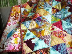 Triangles with Gayle, Anna Maria Horner Quilt   Flickr - Photo Sharing!
