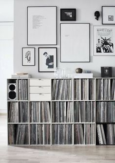 Vosgesparis: Vinyl collections | Cool cabinets to store your records