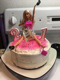 21st Birthday Cake For Jillian