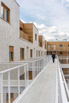 Immeuble Less - AAVP ARCHITECTURE - VINCENT PARREIRA - © Pierre l'Excellent