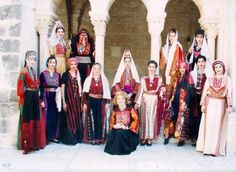 Traditional Palestinian costume  Every city in Palestine has a slightly different costumeTraditional palestinian costume