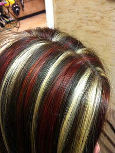 Lanza hair color. Serendipity BURLESON, TX.