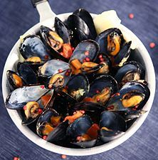 Seafood Recipes, Cooking Recipes, Sea Food, Greek Recipes, Fish And Seafood, Barbecue, Blueberry, Food And Drink, Fruit