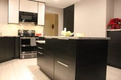 IKEA Veddinge and Tingsryd Kitchen by Easy Installations Victoria BC Ikea Kitchen Design, Ikea Kitchen Cabinets, Ikea Pictures, Kitchen Pictures, Ikea Kitchen Installation, Kitchen Utensils Store, Kitchen Chandelier, Yellow Walls, Wood Doors