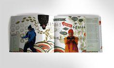 Sessions Snow catalogue 2010  by MAKI , via Behance