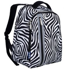 Wildkin Zebra Echo Backpack ** Check out the image by visiting the link. (This is an Amazon Affiliate link and I receive a commission for the sales)