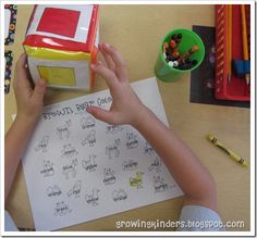 great color word id activity