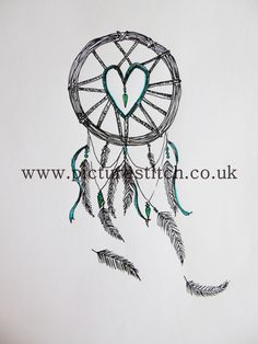 "Embroidery Digital File "" Dream Catcher"" RESERVE by NicolaElliott on Etsy"