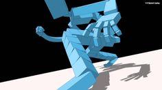 Admission Animation test for Japanese Studio Khara スタジオカラー 3Dアニメーター募集告知ムービー