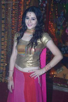 Priyal Gor at Big Magic Janmasthami episode shoot in Mumbai on 17th Aug 2013 / Priyal Gor - Hamara Photos