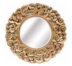specchio d'oro, specchi dorati, specchi dorati di vendita, l'acquisto di specchio d'oro, specchi dorati e tondo oro