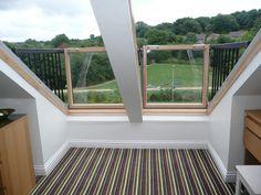 Elegant Balcony Roof Window