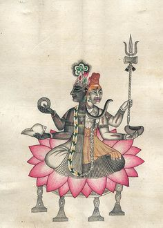 Our exhaustive collection includes Paintings of Hindu Gods & Goddesses. ExoticIndia – The online Indian Art Store. Om Namah Shivaya, Shiva Art, Hindu Art, Tantra, Yantra Yoga, Wheel Of Life, Lord Shiva Painting, Hindu Deities, Indian Art