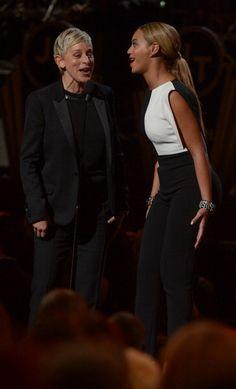 Beyonce  Ellen Queenbey #Grammys