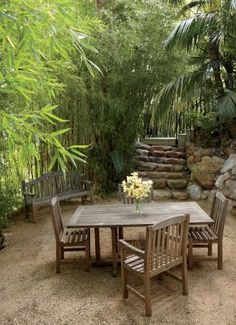 Traditional Outdoor Space by Waldos Designs in Bel Air, California