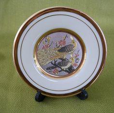 Vintage The Art of Chokin miniplate by nitebyrd on Etsy, $6.50