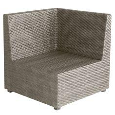 Ciudad Corner Chair - Gray