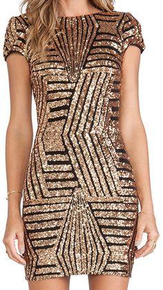 URqueen Women s Pailletten Rückenfrei Bodycon Party Mini Kleider   Amazon.de  Bekleidung 35fc7f8915