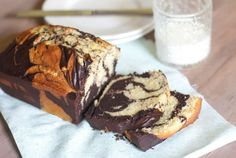 Marble Pound Cake: There's no morning a chocolate swirl can't improve.