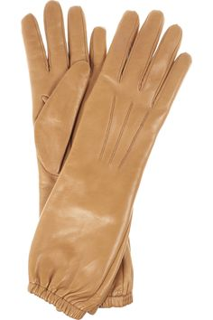 Cashmere-lined leather gloves...Francie, Heidi...and me.