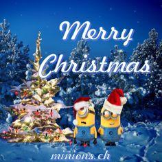 Merry Christmas - Fröhliche Weihnachten   minions.ch