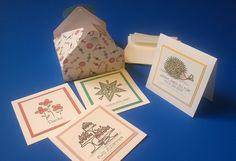 """Geschenkkartons - Karten-Set """"Anlässe"""" inkl. Geschenk-Verpackung - ein Designerstück von kreativesherzerl bei DaWanda"""