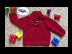 Baby Knitting, Crochet Baby, Knit Crochet, Princesa Charlotte, Crochet Crafts, Baby Dress, Baby Kids, Pullover, Sewing