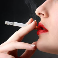 What Smoking Does to Your Body  If you think smoking a cigarette on girls' nights out is a harmless vice, think again