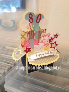 'Birthday' Party Box Card