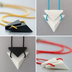 We're Obsessed: Printed Jewelry by Hot Pop via Brit + Co. Informations About We're Obsessed: Printed Jewelry by Hot Pop Pin You can. 3d Printing Diy, 3d Printing Service, Impression 3d, Diy 3d Drucker, 3d Printed Objects, 3d Printer Designs, 3d Printed Jewelry, Creation Deco, 3d Prints