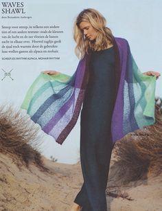 Breien. Waves sjaal.