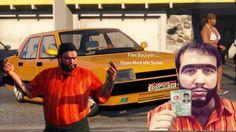GTA 5 TAKSİCİ MOD Recep İvedikle Taksi Sürüyoruz